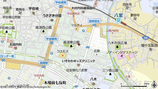 〒672-8021 兵庫県姫路市白浜町宇佐崎中の地図