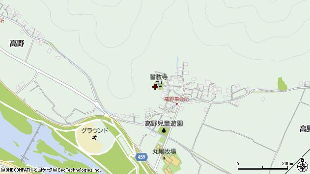 〒678-0171 兵庫県赤穂市高野の地図