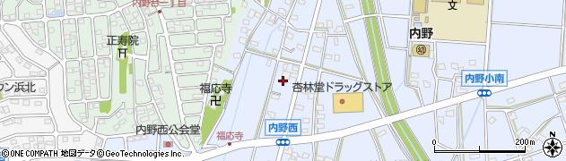 静岡県浜松市浜北区内野 住所一覧から地図を検索