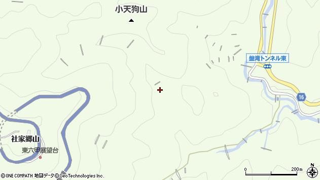 〒662-0006 兵庫県西宮市越水社家郷山の地図