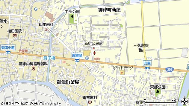 〒671-1321 兵庫県たつの市御津町苅屋の地図