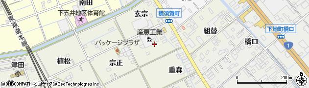 愛知県豊橋市横須賀町(野田)周辺の地図