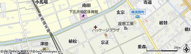 愛知県豊橋市横須賀町(三月田)周辺の地図