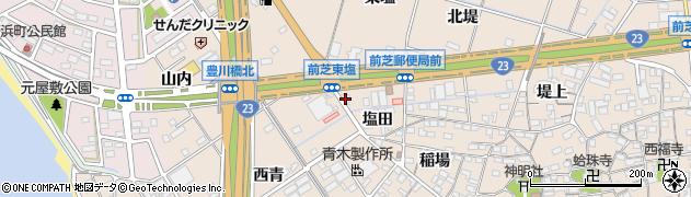 磯路周辺の地図