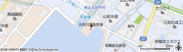 大井川港漁協 直営食堂・さくら周辺の地図