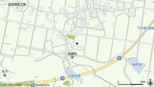 〒675-1203 兵庫県加古川市八幡町下村の地図