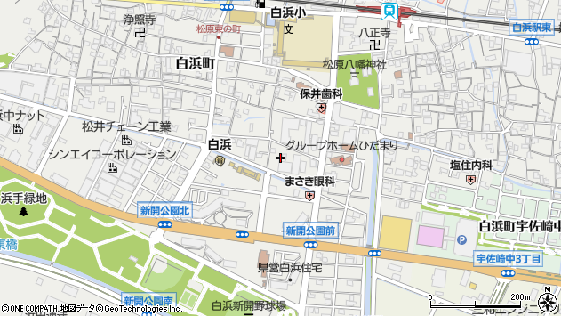 〒672-8023 兵庫県姫路市白浜町の地図