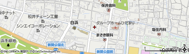兵庫県姫路市白浜町周辺の地図