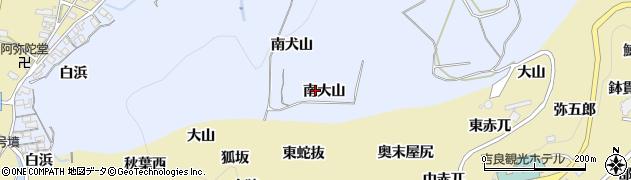 愛知県西尾市吉良町乙川(南大山)周辺の地図