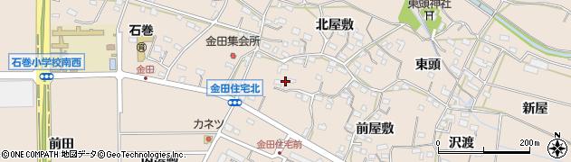愛知県豊橋市石巻町(中瀬古)周辺の地図