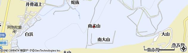 愛知県西尾市吉良町乙川(南犬山)周辺の地図