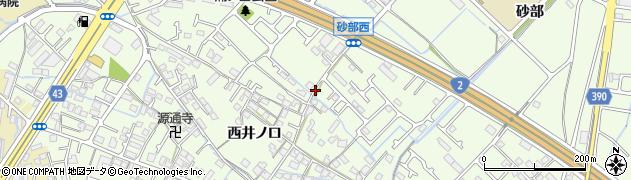 兵庫県加古川市東神吉町(西井ノ口)周辺の地図