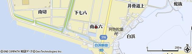愛知県西尾市吉良町白浜新田(南五六)周辺の地図