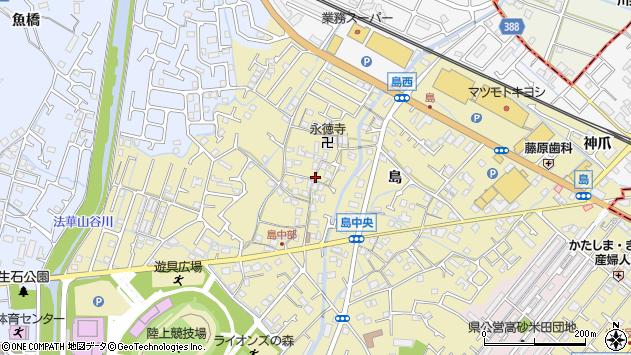 〒676-0807 兵庫県高砂市米田町島の地図