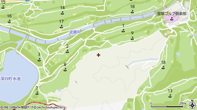 〒665-0023 兵庫県宝塚市蔵人の地図