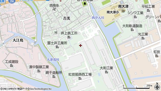 〒671-1133 兵庫県姫路市大津区吉美の地図