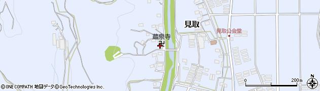 蔵泉寺周辺の地図