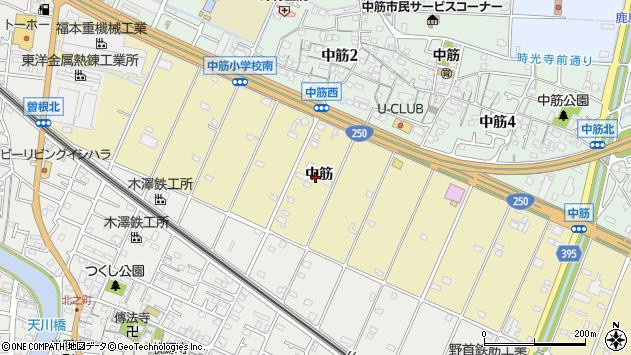 〒676-0081 兵庫県高砂市伊保町中筋の地図