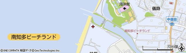 愛知県美浜町(知多郡)奥田(砂原)周辺の地図
