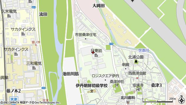 〒664-0839 兵庫県伊丹市桑津の地図