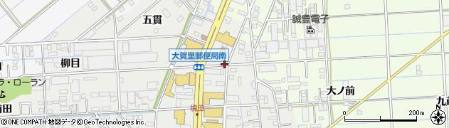 愛知県豊橋市下地町(操穴)周辺の地図