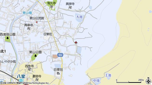 〒672-8014 兵庫県姫路市東山の地図