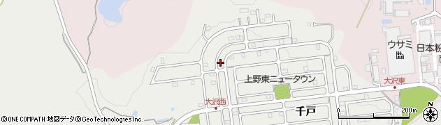 三重県伊賀市大沢周辺の地図
