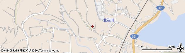 静岡県浜松市北区三ヶ日町下尾奈周辺の地図