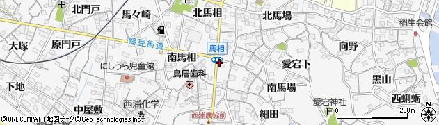 魚丈本館周辺の地図