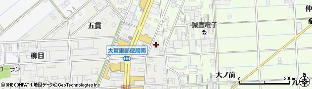 鉄板焼十々周辺の地図