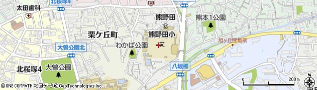 大阪府豊中市赤阪周辺の地図