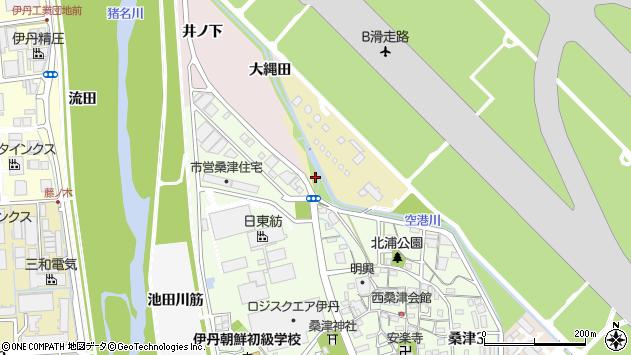 〒664-0834 兵庫県伊丹市西桑津の地図