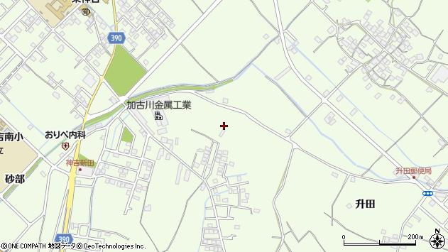 〒675-0051 兵庫県加古川市東神吉町升田の地図