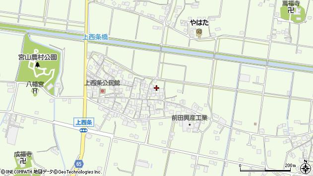 〒675-1204 兵庫県加古川市八幡町上西条の地図