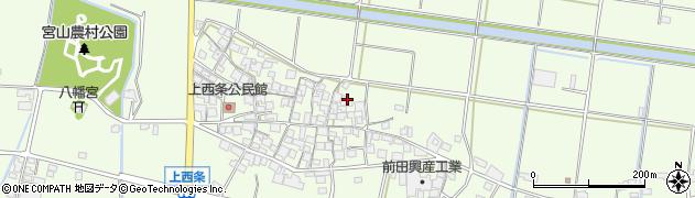 兵庫県加古川市八幡町(上西条)周辺の地図