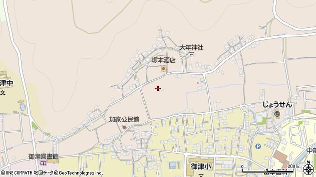 〒671-1342 兵庫県たつの市御津町朝臣の地図