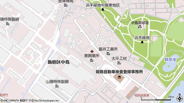 〒672-8035 兵庫県姫路市飾磨区中島の地図
