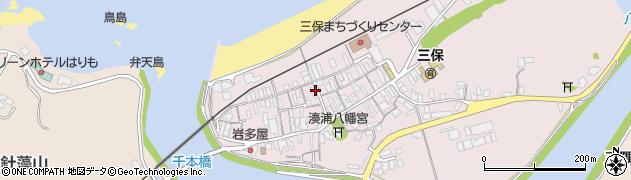 島根県浜田市三隅町湊浦周辺の地図