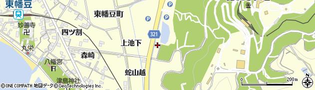 喜泉周辺の地図