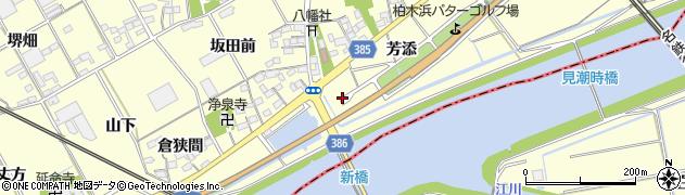 愛知県豊川市平井町(上藤井)周辺の地図