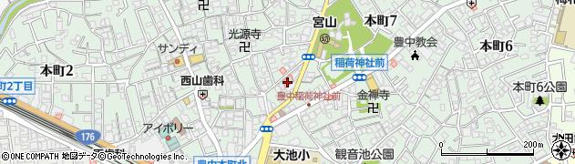 ライフ24パソコン教室周辺の地図