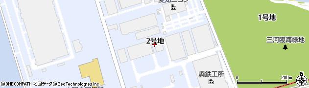 愛知県豊川市御津町佐脇浜周辺の地図