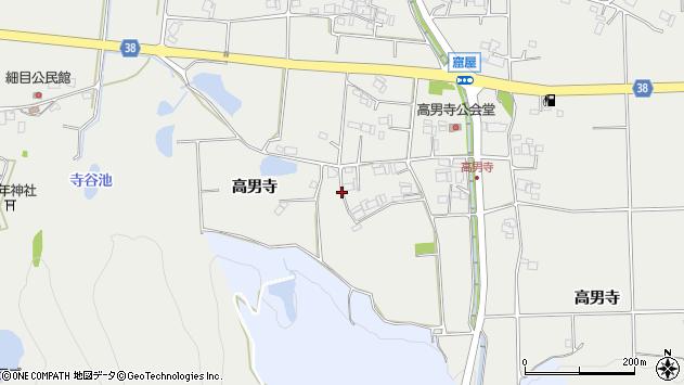 〒673-0504 兵庫県三木市志染町高男寺の地図