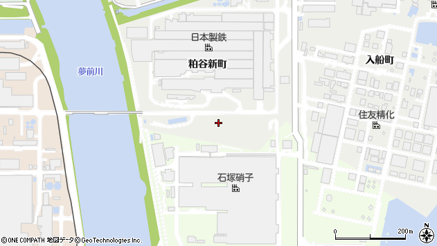 〒672-8077 兵庫県姫路市飾磨区粕谷新町の地図