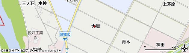 愛知県豊橋市下条西町(大畷)周辺の地図
