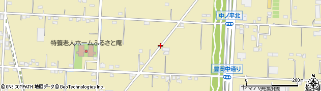 静岡県浜松市北区豊岡町周辺の地図