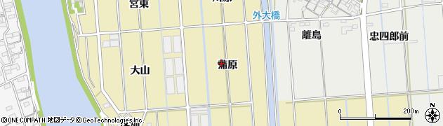 愛知県西尾市吉良町大島(蒲原)周辺の地図