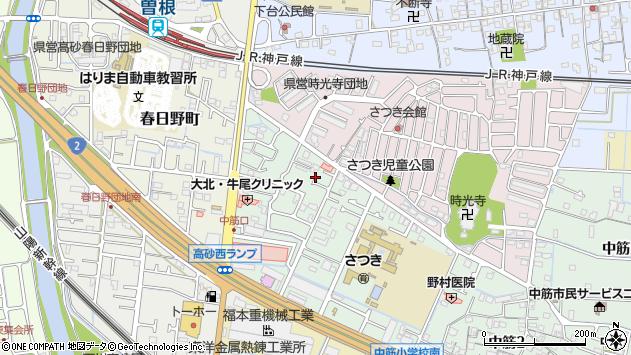 〒676-0812 兵庫県高砂市中筋の地図