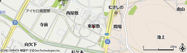 愛知県豊橋市石巻本町(東屋敷)周辺の地図