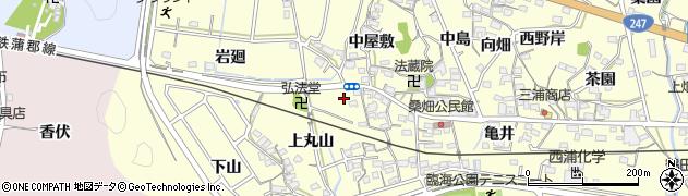 愛知県西尾市東幡豆町(田戸)周辺の地図